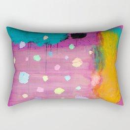 Cotton Candy Conundrum Rectangular Pillow
