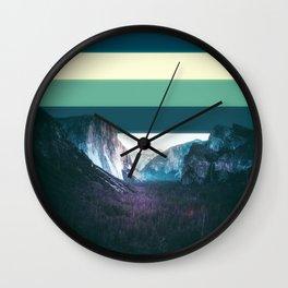 Colorscape III Wall Clock