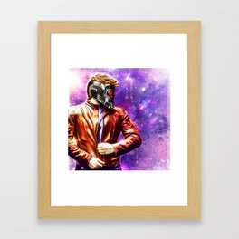 Guardians of the Galaxy - Starlord Framed Art Print