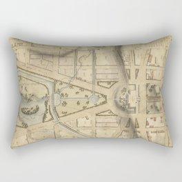 Washington D.C. 1815 Rectangular Pillow
