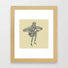 Wolf Tribe Framed Art Print