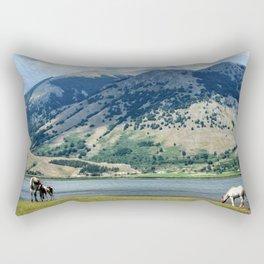 The Lake #2 Rectangular Pillow