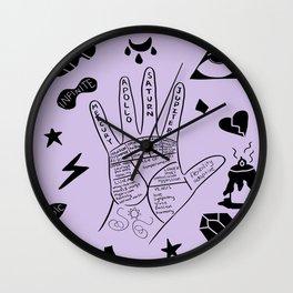 Palmistry Wall Clock