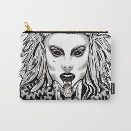 Die Antwood Inspired Illustration Carry-All Pouch