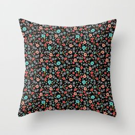Pretty Not-So-Sweary: Nope, Night Throw Pillow