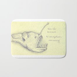 Anglerfish Reception Bath Mat