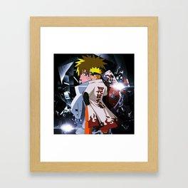 The seventh Hokage Framed Art Print