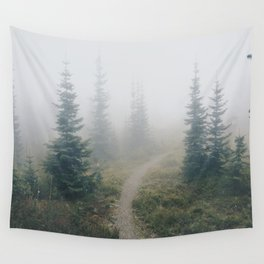 Foggy Mornings Wall Tapestry