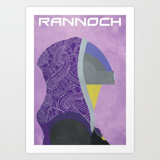 Rannoch - Mass Effect Art Print
