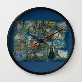 The Impressionists No. 1 COL140215a Wall Clock