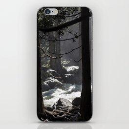 A River Runs Through Yosemite iPhone Skin