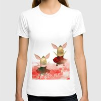 pigs T-shirts featuring Flying pigs by Annabellerockz