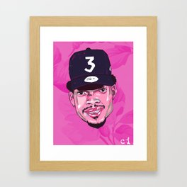 Chance The Rapper 3 / Coloring Book Framed Art Print