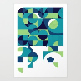 RainyDay Pattern Art Print