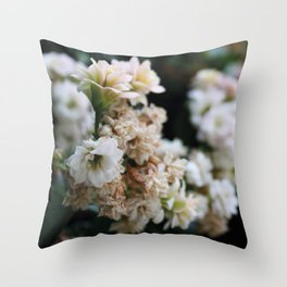 Beneath Dead Leaves Throw Pillow