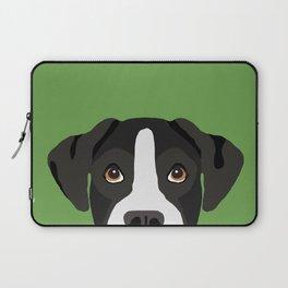 Boxer pet portrait cute dog lover rescue dog lover Boxers portrait dog breeds Laptop Sleeve