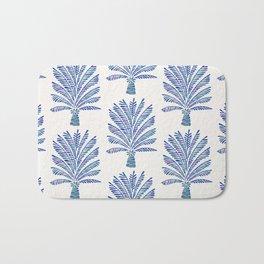 Palm Tree – Navy Palette Bath Mat