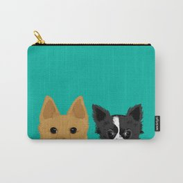 Pippen & Sooty - Teal Carry-All Pouch