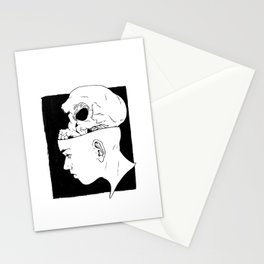 Death Mask - 1 Stationery Cards