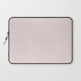 Bridal Rose Stripe Laptop Sleeve