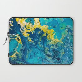Waves from Space Laptop Sleeve
