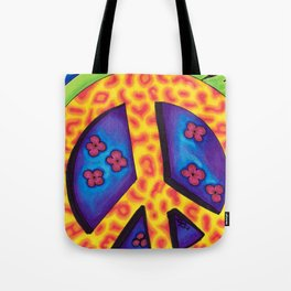 Peace Sign - Mazuir Ross Tote Bag