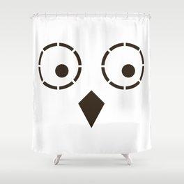 Du-Hu – the owl Shower Curtain