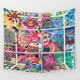 Subconsious Safari By Artist Jeff Parrott Psyexpression Wall Tapestry