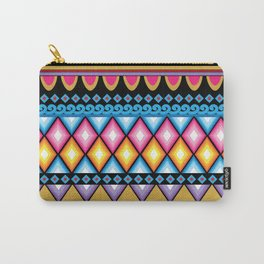 Haight and Ashbury inspired boho hippie illustration Carry-All Pouch