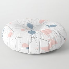 Spotted life Floor Pillow