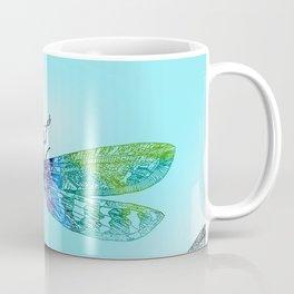 Dragonflies and Blue Skies Coffee Mug