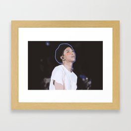 Kim Namjoon Framed Art Print