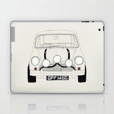 The Italian Job White Mini Cooper Laptop & iPad Skin
