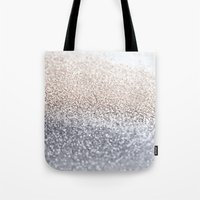 silver Tote Bags featuring SILVER by Monika Strigel®