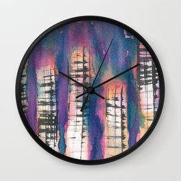 Metropol 4 Wall Clock