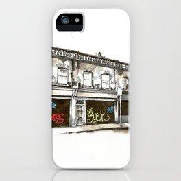 Shutters, Grantham Street, Dublin iPhone Case