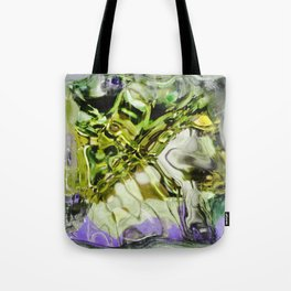 432 - abstract glass design Tote Bag