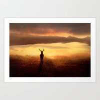 Peaceful Dawn Art Print