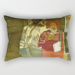 In the Grind Rectangular Pillow