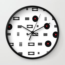 Media Wall Clock