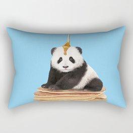 PANCAKE PANDA Rectangular Pillow