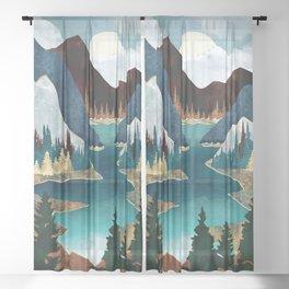 River Vista Sheer Curtain