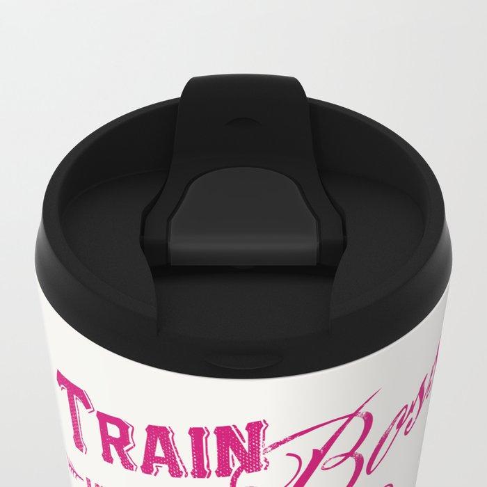 Train Like A Boss Metal Travel Mug