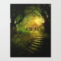 Secret place II Canvas Print