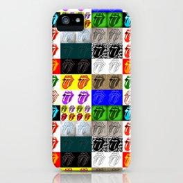 Licks & Stones iPhone Case