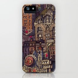 Wizard City, Lower Manhaddon, 1976 iPhone Case