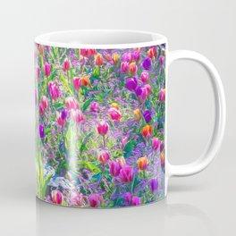 In A Sea of Tulips Coffee Mug
