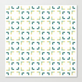 Green Yellow Blue Canvas Print