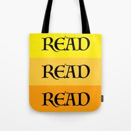 READ READ READ {YELLOW} Tote Bag