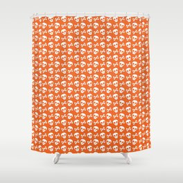 Skull & Crossbones // Halloween Collection Shower Curtain